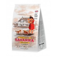 Savarra, Kitten, корм д/котят (индейка/рис)