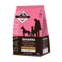 Savarra, Adult, сухой корм д/собак крупных пород (ягненок/рис)