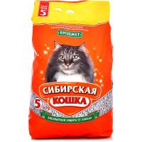 Сибирская кошка, Бюджет, наполнитель минеральный (впит.)