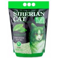 Сибирская кошка, Tofu Зеленый Чай, наполнитель биоразл./комкующ.