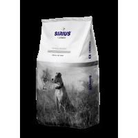 Sirius Platinum, корм д/собак (утка/овощи)