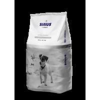Sirius Platinum, корм д/мелких пород собак (индейка/овощи)