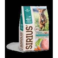 Sirius, корм д/собак крупных пород (индейка/овощи)