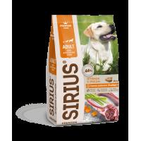 Sirius, корм д/собак всех пород (ягненок/рис)