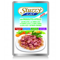 Stuzzy, влажный корм д/кошек (ветчина/телятина в желе)