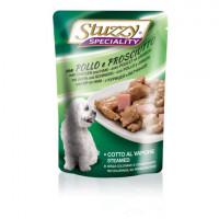 Stuzzy, Speciality, влажный корм д/собак (курица/ветчина в соусе)