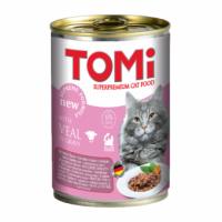 TOMi, влажный корм д/кошек (телятина)