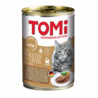 TOMi, влажный корм д/кошек  (утка/печень в соусе)