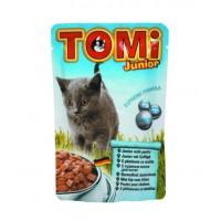 TOMi, влажный корм д/котят (курица в соусе)