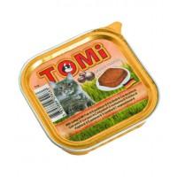 TOMi, влажный корм д/кошек (индейка паштет)