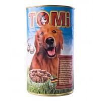 TOMi, влажный корм д/собак (5 видов мяса в соусе)