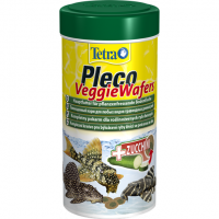 Tetra, Pleco, Veggie Wafers, корм для сомов (чипсы)