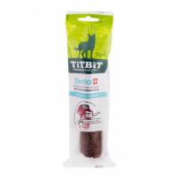 Titbit Дентал + трубочка с бараниной для крупных пород