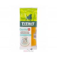 Titbit Дентал + зубочистка индейка для мелких пород собак 26г.