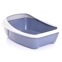 Сибирская кошка, Евро, туалет для кошек глубокий с бортиком (44х32х16 см.)