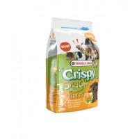 Versele-laga, корм для грызунов с клетчаткой Crispy Snack Fibres