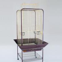 Золотая клетка,  вольер для крупных птиц, золото (80х80х152 см.)