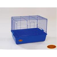 Золотая клетка, R1F, клетка для кролика, эмаль (60х36х40 см.)