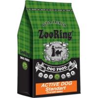 ZooRing, Active Dog Standart, корм д/собак ср/кр пород (птичий микс)