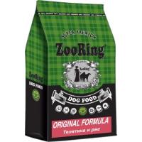 ZooRing, Original Formula, корм д/собак всех пород (телятина/рис)