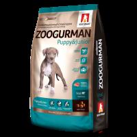 Zoogurman, Puppy&Junior, корм д/щенков сред.и круп. пород (телятина)