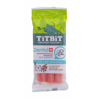Titbit Дентал + снек с мясом ягненка для щенков и  средних пород