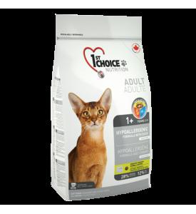 1St Choice Hypoallergenic, корм д/кошек (утка/картофель)