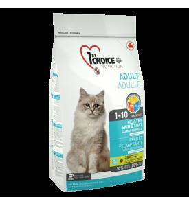 1St Choice Healty Skin&Coat, корм д/кошек (лосось)