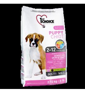 1St Choice Puppy Sensitive, корм д/щенков всех пород (ягненок)