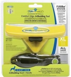 FURminator, FURflex Комбо против линьки XL, для собак гигантских пород