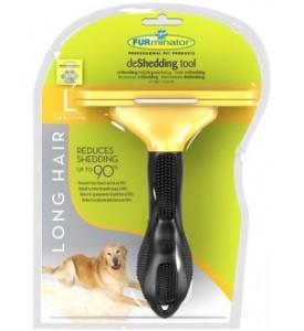 FURminator для собак крупных, длинношерстных пород Long Hair Large Dog 10 см
