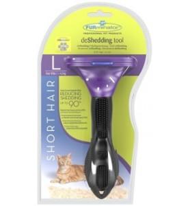 FURminator для кошек больших, короткошерстных пород Short Hair Large Cat 7 см