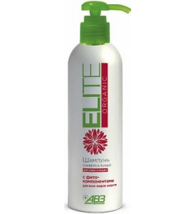 ELITE Organic, шампунь универсальный для всех видов для кошек и собак, 270 мл