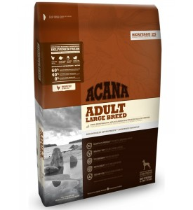 Acana, Heritage, Adult, корм д/собак крупных пород (цыпленок/рыба)