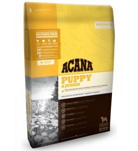 Acana, Heritage, Puppy, корм д/щенков средних пород (цыпленок/рыба)