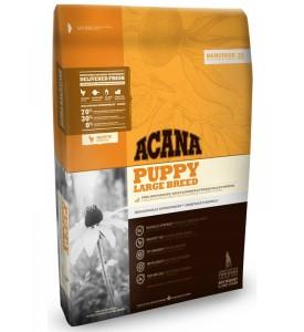 Acana, Heritage, Puppy, корм д/щенков крупных пород (цыпленок/рыба)