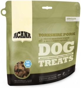 Acana, Yorkshire Pork, лакомство д/собак (свинина/тыква)