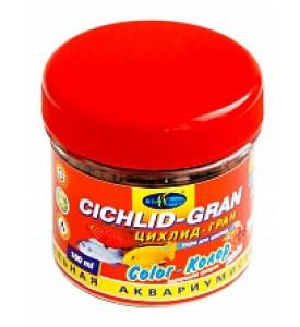 BioDesign, корм для рыб Cichlid-Gran Color (пеллеты)