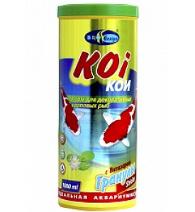 BioDesign, корм для рыб Koi с витазаром (для прудовых рыб)