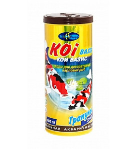 BioDesign, корм для рыб Koi Basic (для прудовых рыб)