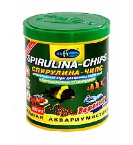 BioDesign, корм для рыб Spirulina&Chlorella (вафельки)