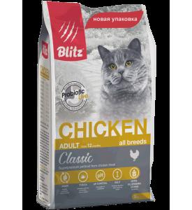Blitz, Adult, корм д/кошек (курица)