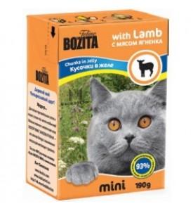 Bozita, mini влажный корм д/кошек (ягненок)