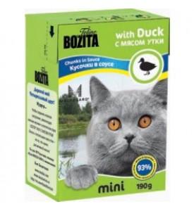 Bozita, mini влажный корм д/кошек (утка)