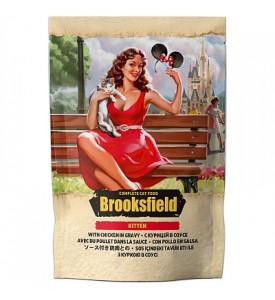 Brooksfield, Kitten, влажный корм д/котят (цыпленок в соусе)