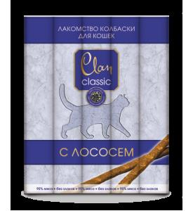 Clan Classic д/кошек мясные палочки с лососем (5шт*5г)