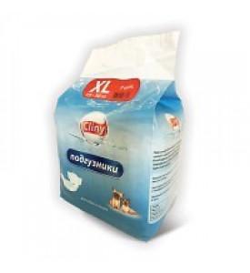 Cliny, подгузники для собак и кошек L 8-16 кг. (8 шт.)