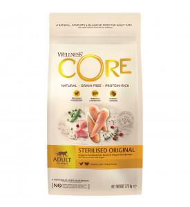 Core, Sterilised, корм д/стер. кошек и кастр. котов (курица/индейка)