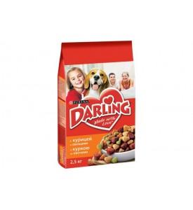 Darling, корм д/собак всех пород (птица/овощи)