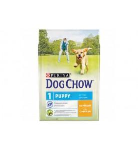 Dog Chow, Puppy, корм д/щенков всех пород (курица)